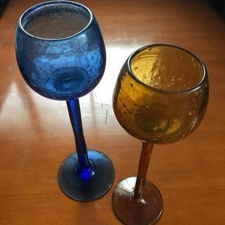 琉球ガラス キャンドルホルダー