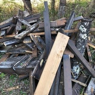 2×6材ほか 焚き木、薪に