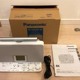 (美品)Panasonic ラジオレコーダー RF-DR100