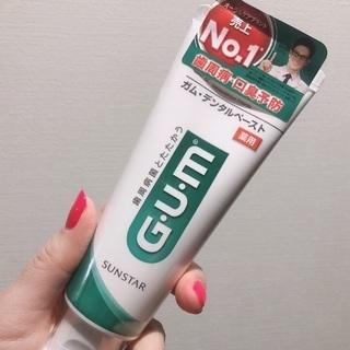 GUM ガム デンタルペースト 歯磨き粉