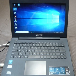 ASUSノートパソコンX453S(SSD120GB、メモリー8G...