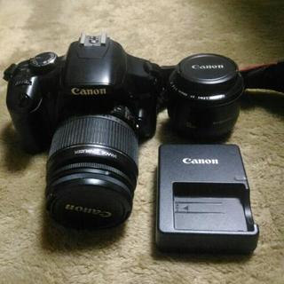 【譲り先決定】Canon  Kiss X2 セット
