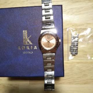 🌟値下げ🌟セイコールキア腕時計2,000円でお譲りします。