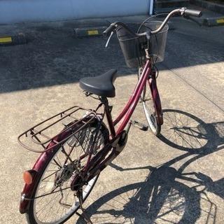 無料 中古自転車差し上げます 24インチ
