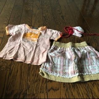 女児の服100