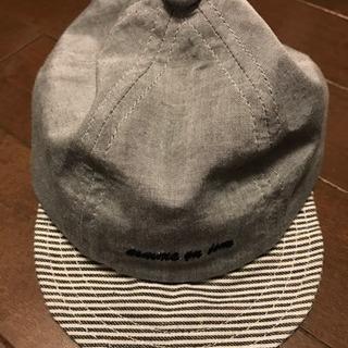 赤ちゃん用帽子【1か月から使えいただきますよ】サイズ44cm