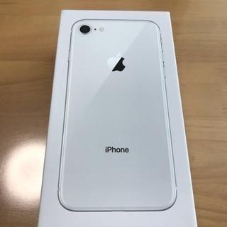 iPhone8 64G Silver 新品 Sim解除品