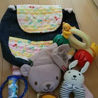 ミキハウス コムサ combi 赤ちゃんおもちゃ