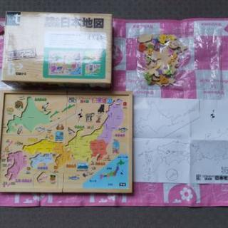 【売り切れました】学研 パズル 木製 日本地図