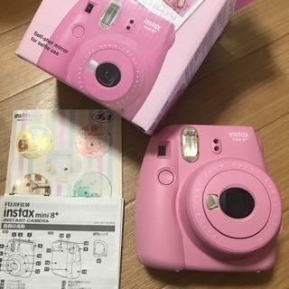 取引中]富士フイルムチェキmini8プラス  ピンク