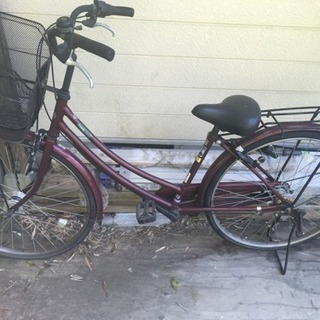 26インチブリジストンパンクしない自転車