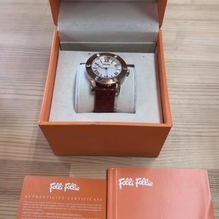 Folli Follie フォリフォリ 腕時計 美品! 値下げ!