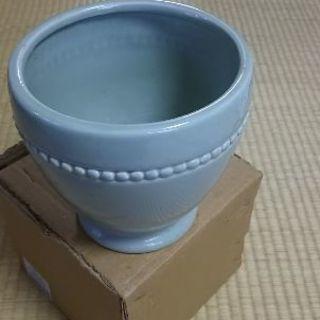 青磁 みずあさぎ色 花瓶 花器 寄せ植に