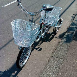 美品***大人用*** 大人用三輪車