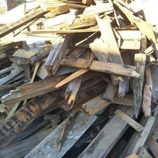 薪用の材木差し上げます。