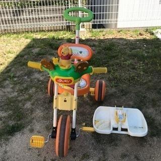 【成約済み】くまのプーさん 三輪車