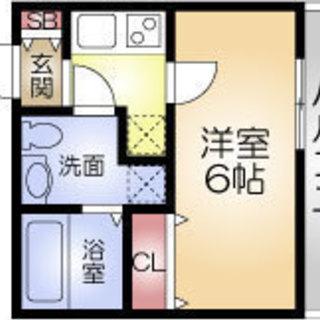 中之島駅 歩9分  家賃32500円  共益費5000円  21.76㎡