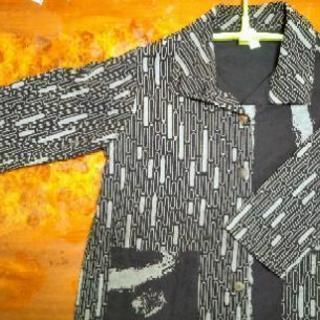 【お得】購入価格:1万円以上 和柄ビックシルエットの上着