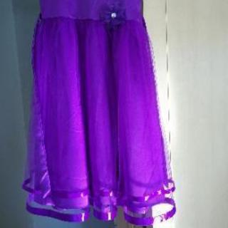 ドレス☆紫☆150cm