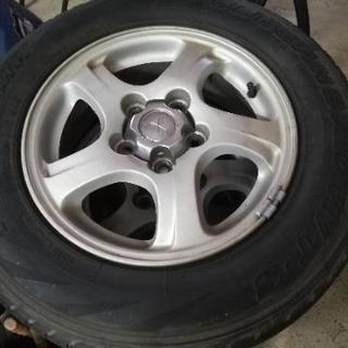 パジェロミニ純正アルミ付タイヤ4本