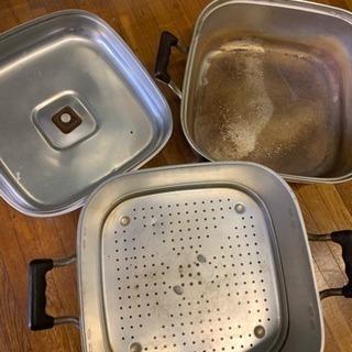 蒸し鍋 古め マルハチ印