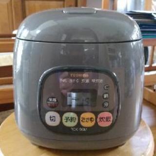 東芝製 炊飯器 3合炊き 500円