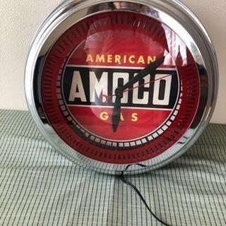 アメリカン アモコ掛け時計