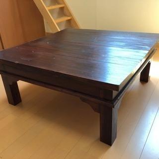 ★値下げ★【インドネシア家具】ローテーブル