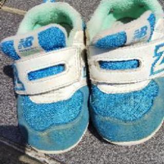 キッズ シューズ ニューバランス 靴 new balance 13.5㎝