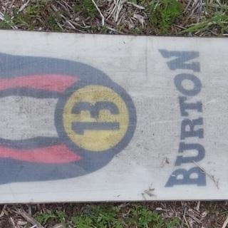 旧型 バートン ボード BURTON