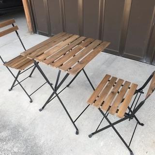 ガーデンテーブルセット(取引中)