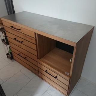 キッチンカウンター 作業台 天板ステンレス