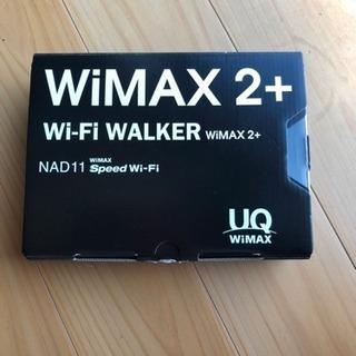 WiMAX2+モバイルルーター一式