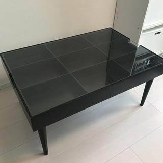 コレクションテーブル 机 ブラック