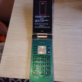 auSHF33携帯電話 中古品