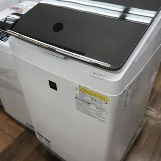 1年保証つき!電気洗濯乾燥機 SHARP ES-PU11B-S ...