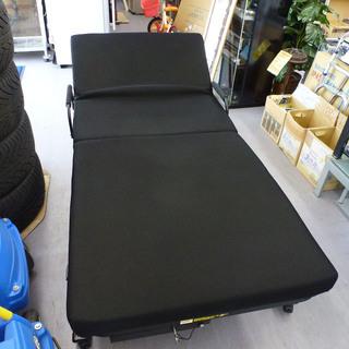 paypay対応 手稲リサイクル 折りたたみベッド 黒 ¥9,800-