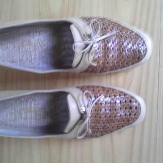 ローヒールな靴1