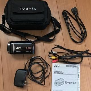 ビデオカメラ JVC Everio 液晶不調品