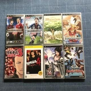 PSPソフト  各100円