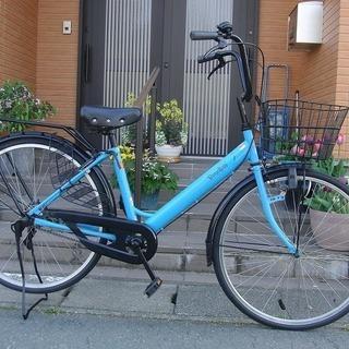 中古自転車 26インチ★カマキリタイプ 自転車整備士が整備