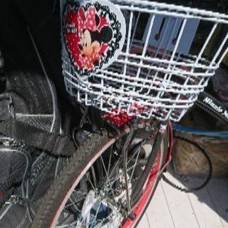 ミニーちゃんの自転車20インチ