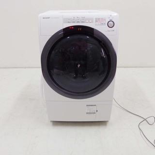 動作保証 美品  SHARP シャープ コンパクトドラム洗濯機 ...