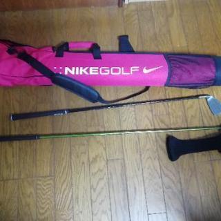 【ゴルフセット】クラブ2本×簡易バッグ