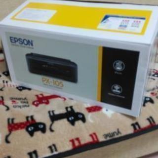開封済み未使用のプリンター、EPSON、PX-105買って下さい!の画像