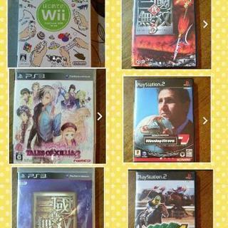 【バラ売り可】プレステ2、3 Wii ソフト 5本