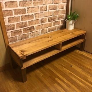 アンティークシンプル木目調センターテーブル