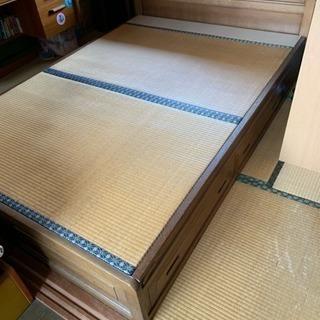 特別セール!寝やすい畳のベッド!
