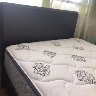Sealy シングルベッド ダブルテンパーコイル ベッドマットと...