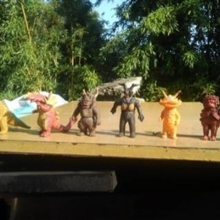 怪獣ソフビ人形6個セット